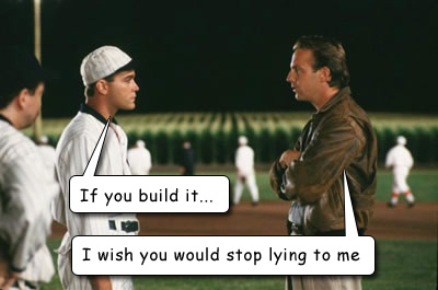The Field of Dreams is a Liar